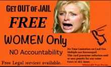 Get out of Jail free, women only of course