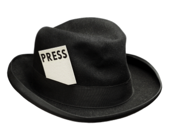 reporter-hat